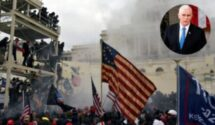 মার্কিন ইতিহাসের কালো দিন আজ: পেন্স