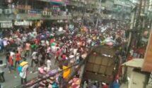 লকডাউন প্রত্যাহারের দাবিতে রাজধানীতে মিছিল-অবরোধ